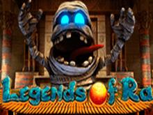 Легенды Ра - играть бесплатно на виртуальные ставки